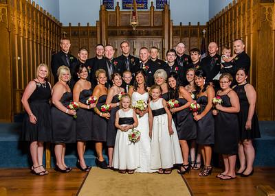 Risa wedding full wedding party