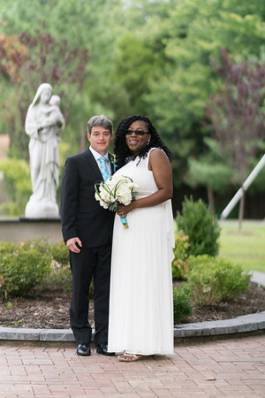 Gavin Fisher and Hazel Meda - Aug. 12, Our Lady of Good Counsel
