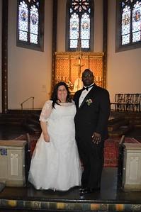 Vivian Quintero-Green and Keith Green - Jan. 14, St. Rita