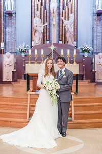 Ashleigh Buyers and Isaac Kassock - June 17, St. Mary of the Immaculate Conception