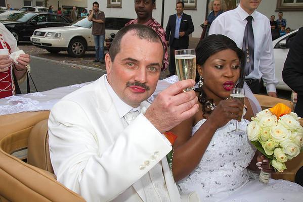 Jane & Peter's Wedding in Singen Germany - Sept. 2013