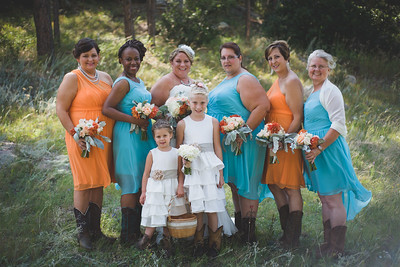 Bridal Party-Allison Easterling