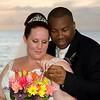 Sunset Wedding in barbados