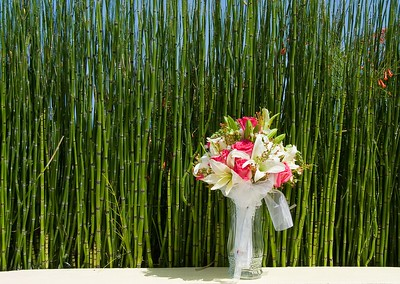 Bamboo and Bouquet