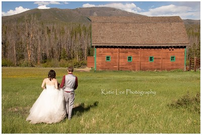 AA Barn.  Grand Lake, Colorado