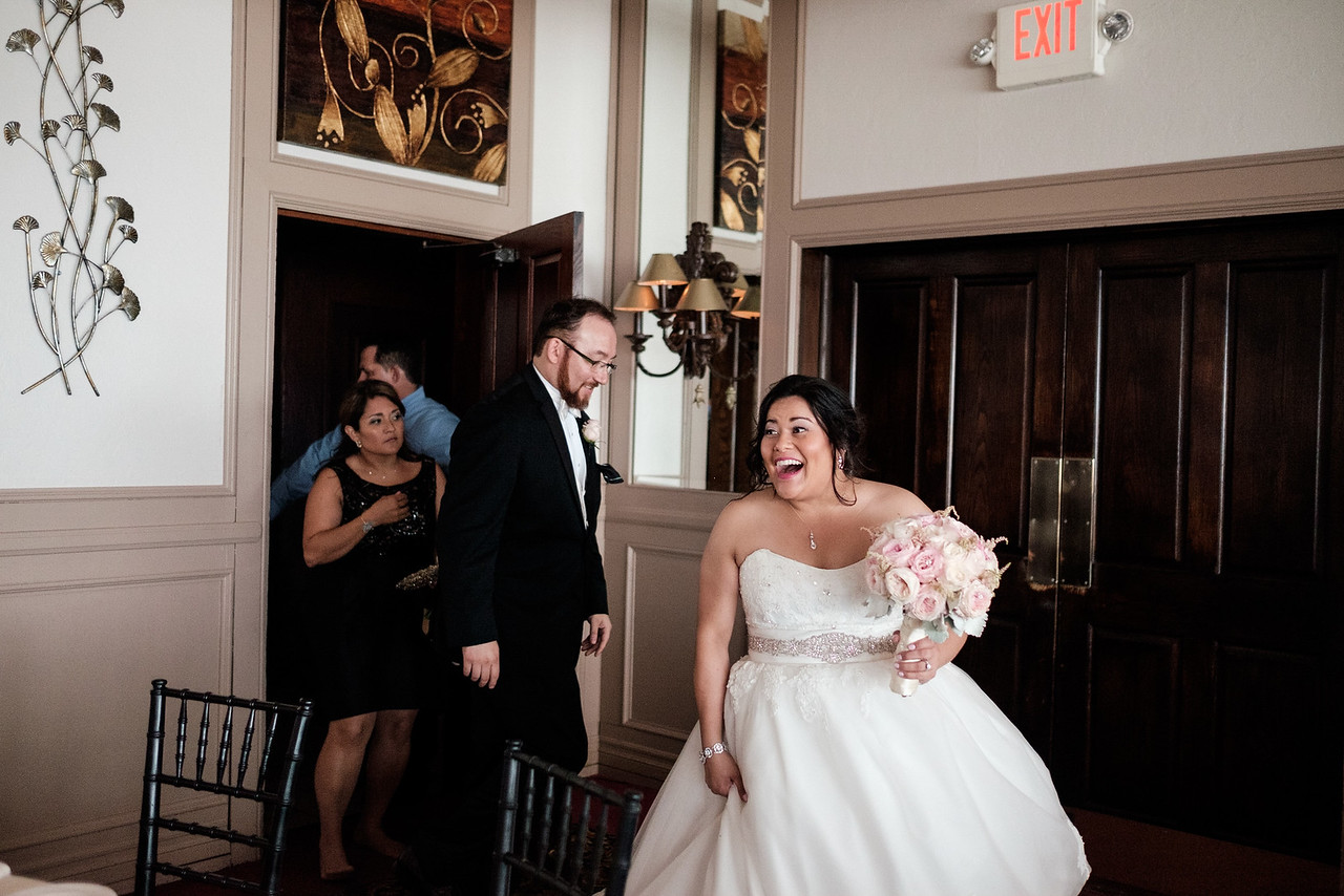 Tampa Florida Destination Wedding Reception