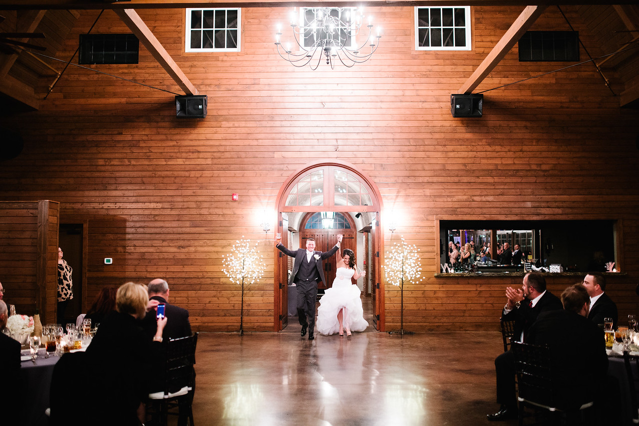 Pavilion at Orchard Ridge Farms Wedding Reception