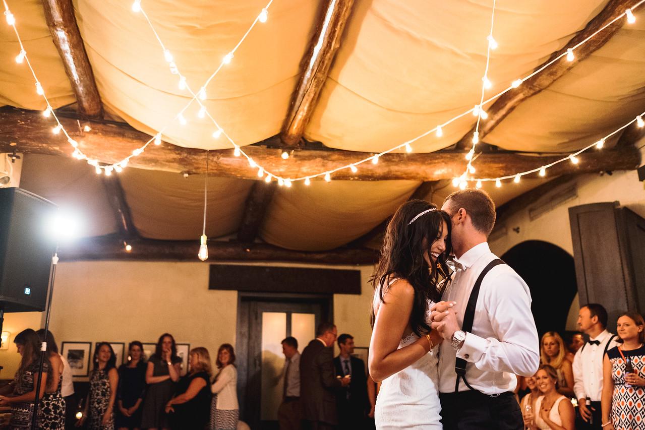 Osteria via Stato Wedding Reception