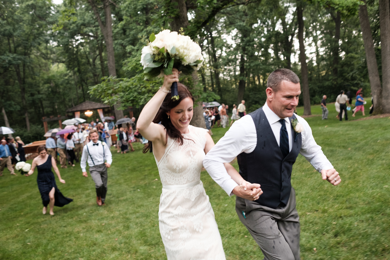 Jill & Rich's Kilbuck Creeek wedding