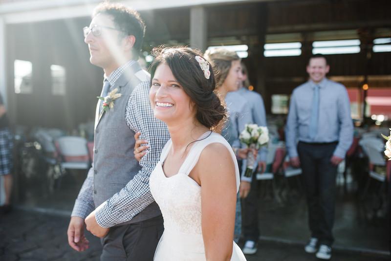 Wedding Ceremony at Busy Barns Adventure Farm