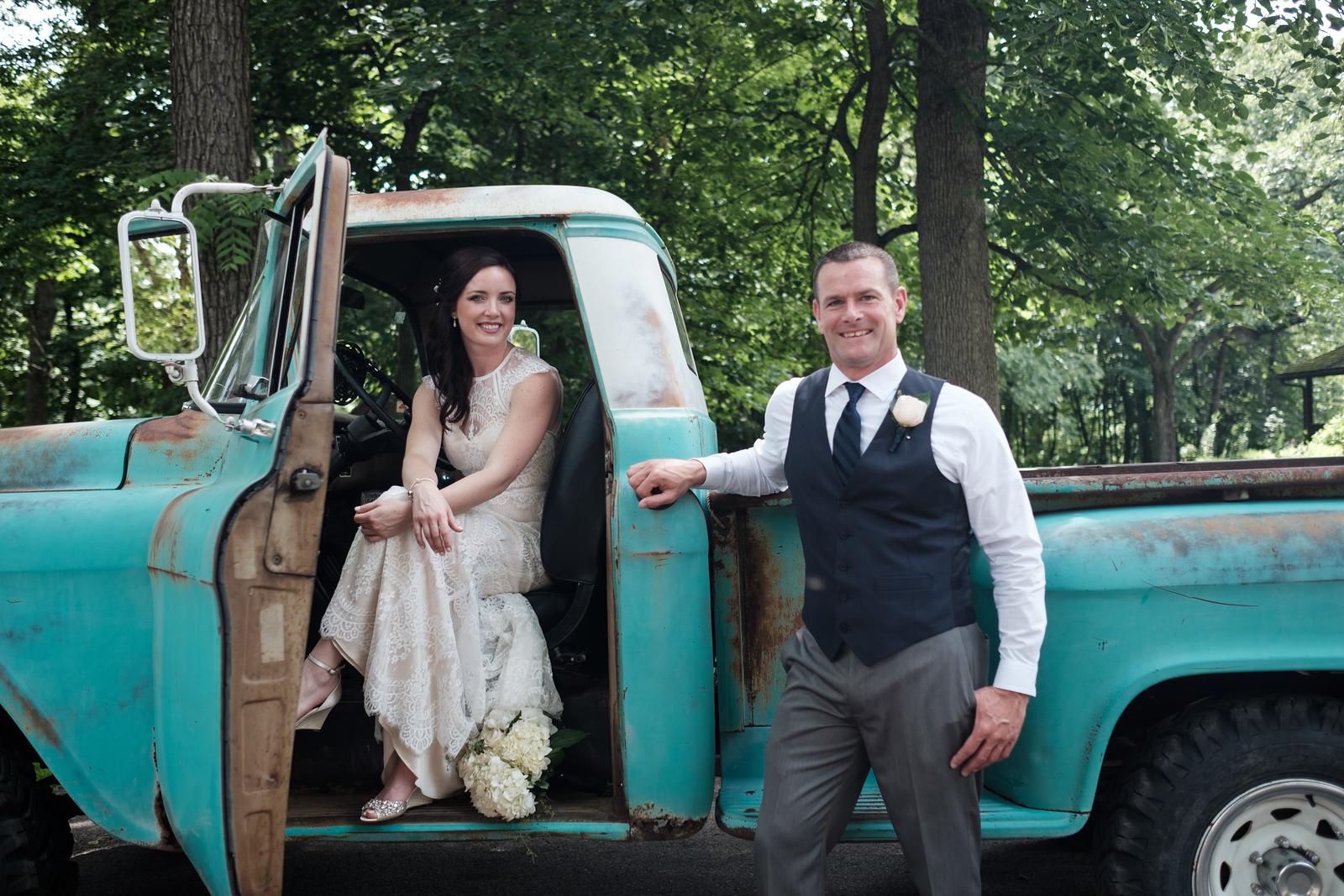 Jill & Rich's Kilbuck Creeek wedding