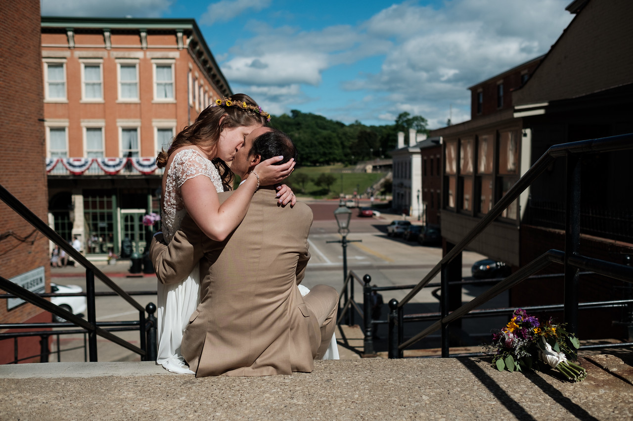 Sabrina & Bill's lively Galena Wedding