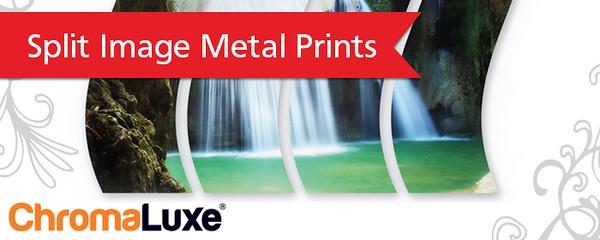 Split Metal Prints