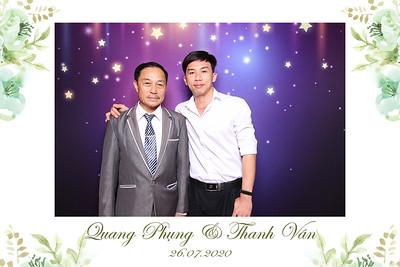 Dịch vụ in ảnh lấy liền & cho thuê photobooth tại sự kiện tiệc cưới của Quang Phụng & Định Tâm | Instant Print Photobooth Vietnam at Quang Phung & Thanh Van's wedding