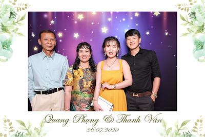 Dịch vụ in ảnh lấy liền & cho thuê photobooth tại sự kiện tiệc cưới của Quang Phụng & Định Tâm   Instant Print Photobooth Vietnam at Quang Phung & Thanh Van's wedding