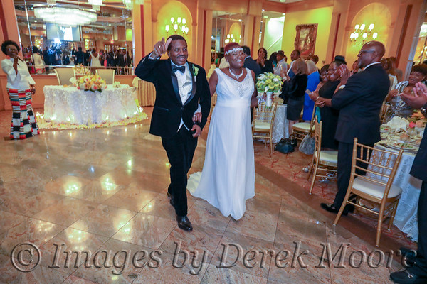 Wedding Reception - Patrick Thompson & Brenda Moore