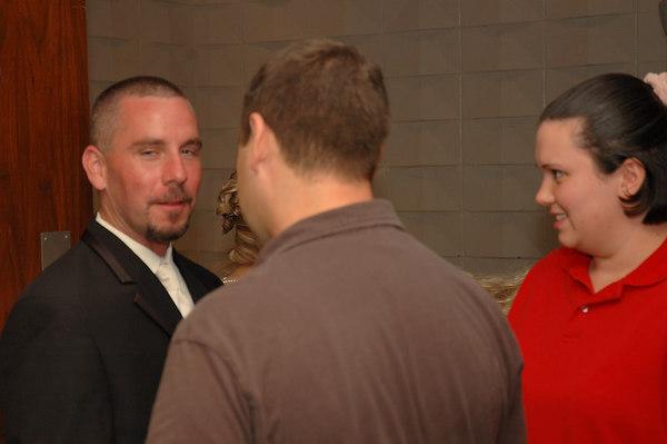 Ahern wedding reception on September 30, 2006