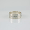Mountain Range Ring in Silver