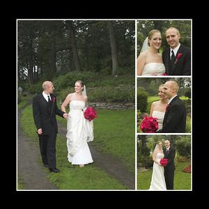 Wedding Album Flush Mount