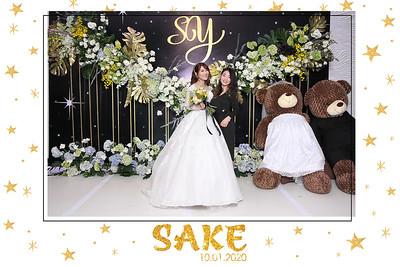 Dịch vụ in ảnh lấy liền & cho thuê photobooth tại sự kiện tiệc cưới của Sang & Yến | Instant Print Photobooth Vietnam at Sang & Yen's wedding