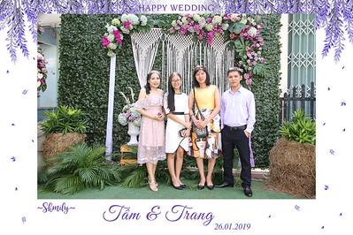 Dịch vụ in ảnh lấy liền & cho thuê photobooth tại sự kiện tiệc cưới của Tâm & Trang | Instant Print Photobooth Vietnam at Tam & Trang's Wedding