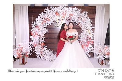 Dịch vụ in ảnh lấy liền & cho thuê photobooth tại sự kiện Tiệc cưới của Tấn Đạt & Thanh Thảo | Instant Print Photobooth Vietnam at Tan Dat & Thanh Thao's Wedding