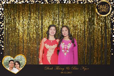 Chụp ảnh lấy liền và in hình lấy liền từ photobooth tại tiệc cưới của Thắng & Ngọc| Instant Print Photobooth at Thắng & Ngọc's Wedding | PRINTAPHY - PHOTO BOOTH VIETNAM