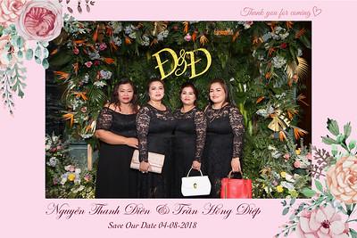 Chụp ảnh lấy liền và in hình lấy liền từ photobooth tại tiệc cưới của Thanh Điền & Hồng Điệp | Instant Print Photobooth at Thanh Dien & Hong Diep's Wedding | PRINTAPHY - PHOTO BOOTH VIETNAM