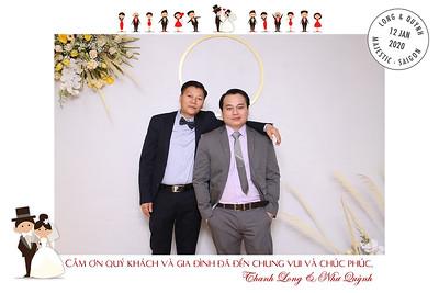 Dịch vụ in ảnh lấy liền & cho thuê photobooth tại sự kiện tiệc cưới của Thanh Long & Nhu Quynh | Instant Print Photobooth Vietnam at Thanh Long & Nhu Quynh's wedding