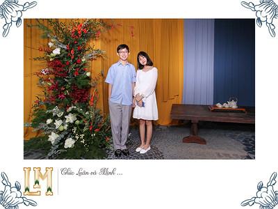 Dịch vụ in ảnh lấy liền & cho thuê photobooth tại sự kiện tiệc cưới của Thanh Luân & Uyên Minh | Instant Print Photobooth Vietnam at Thanh Luan & Uyen Minh's wedding