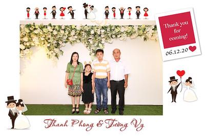 Dịch vụ in ảnh lấy liền & cho thuê photobooth tại sự kiện Tiệc cưới của Thanh Phong & Tường Vy | Instant Print Photobooth Vietnam at  Thanh Phong & Tuong Vy's Wedding