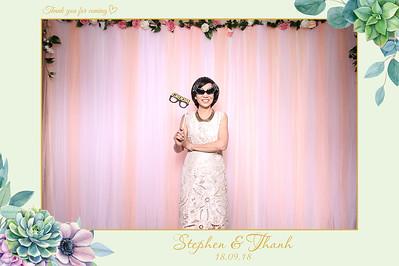 Chụp ảnh lấy liền và in hình lấy liền từ photobooth/photo booth tại tiệc cưới Thanh & Stephen   Instant Print Photobooth/Photo Booth at Thanh & Stephen's wedding   PRINTAPHY - PHOTO BOOTH VIETNAM