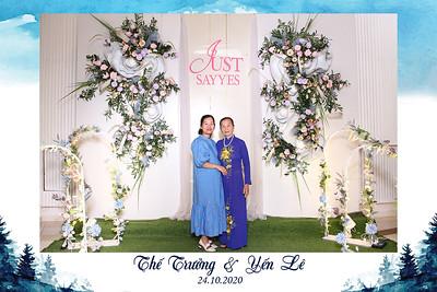 Dịch vụ in ảnh lấy liền & cho thuê photobooth tại tiệc cưới của Thế Trưởng & Yến Lê | Instant Print Photobooth Vietnam at The Truong & Yen Le's Wedding