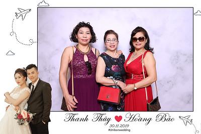 Dịch vụ in ảnh lấy liền & cho thuê photobooth tại sự kiện tiệc cưới của Thùy & Bảo | Instant Print Photobooth Vietnam at Thuy & Bao's wedding