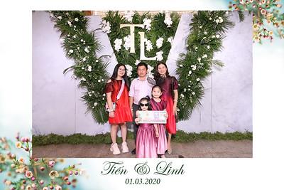 Dịch vụ in ảnh lấy liền & cho thuê photobooth tại sự kiện tiệc cưới của Tiến & Linh | Instant Print Photobooth Vietnam at Tien & Linh's wedding