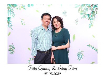 Dịch vụ in ảnh lấy liền & cho thuê photobooth tại iệc cưới của Trần Quang & Băng Tâm  | Instant Print Photobooth Vietnam at Tran Quang & Bang Tam's wedding