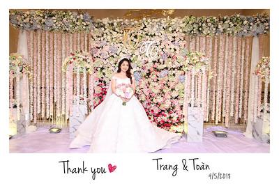 Chụp ảnh lấy liền và in hình lấy liền từ photobooth tại tiệc cưới của Trang & Toan tai Asiana Plaza   Instant Print Photobooth at Trang & Toan's Wedding at Asiana Plaza   PRINTAPHY - PHOTO BOOTH VIETNAM