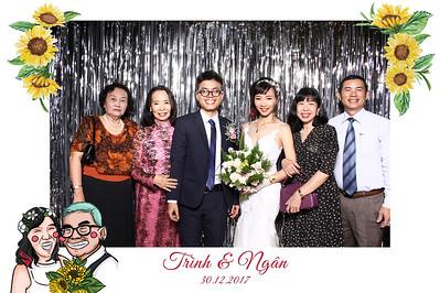 Chụp ảnh lấy liền và in hình lấy liền từ photobooth tại tiệc cưới của Trình & Ngọc | Instant Print Photobooth at Trình & Ngọc's Wedding | PRINTAPHY - PHOTO BOOTH VIETNAM