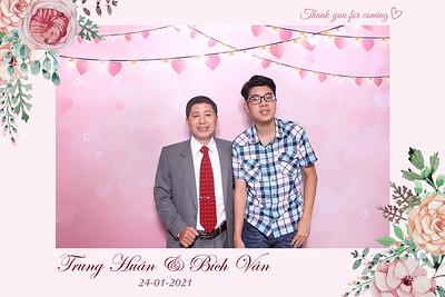 Dịch vụ in ảnh lấy liền & cho thuê photobooth tại sự kiện Tiệc cưới Trung Huân & Bích Vân | Instant Print Photobooth Vietnam at Trung Huan & Bich Van's Wedding