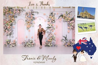Dịch vụ in ảnh lấy liền & cho thuê photobooth tại sự kiện tiệc cưới của Trung & Nhi | Instant Print Photobooth Vietnam at Trung & Nhi's wedding