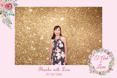 Dịch vụ in ảnh lấy liền & cho thuê photobooth tại sự kiện tiệc cưới của Tuấn Anh & Loan | Instant Print Photobooth Vietnam at Tuan Anh & Loan's wedding