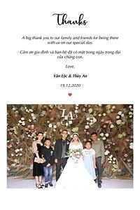 Dịch vụ in ảnh lấy liền & cho thuê photobooth tại sự kiện tiệc cưới của Văn Lộc & Thùy An | Instant Print Photobooth Vietnam at Van Loc & Thuy An's wedding