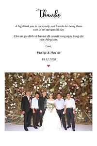 Dịch vụ in ảnh lấy liền & cho thuê photobooth tại sự kiện tiệc cưới của Văn Lộc & Thùy An   Instant Print Photobooth Vietnam at Van Loc & Thuy An's wedding