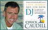 Chuck Caudill Entertainment : My husband Chuck is a professional DJ/Musician here on Anna Maria Island. In addition to being a full service DJ, he is a house musician for the Sandbar & Beachhouse restaurants. He sings, plays guitar & keyboard.  His website is www.chuckcaudill.com.  He can DJ, perform live, or do both - it's up to you! From pre-ceremony music while your guests arrive, all the way through the dance party at the reception, he can cover it all. He is by far the most experienced DJ on the island, and he has great lights! Not having a big wedding? No worries - he has a complete remote beach wedding battery powered set up. He also offers an acoustic guitar ceremony.  You can view photos of him in action throughout my Weddings Gallery. As you will see, we work together to coordinate your music & photography! Chuck even takes photos if time allows:)  Chuck + Dara = Less Stress = More Fun!  Leslie Harris Senac of www.SarasotaFilmandVideo.com just posted a great video of Chuck performing at Feeling Swell on Anna Maria Island  http://www.youtube.com/watch?v=qWRP4No_w7k