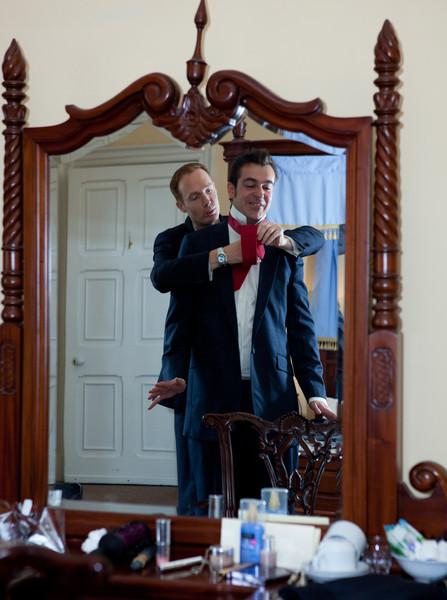 Kaye / Rory Wedding. Getting Ready Photographs.