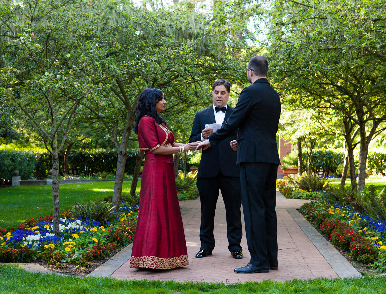 Priya and Chris - Ceremony