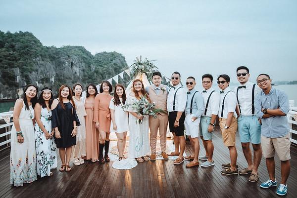 Hạ Long Bay wedding