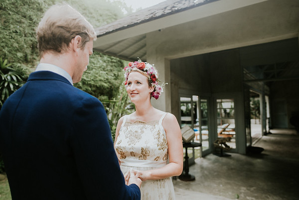 elopement wedding in Bali