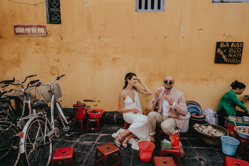 Hoi An Wedding - Intimate Wedding of Angela & Joey captured by Vietnam Destination Wedding Photographers Hipster Wedding-8360