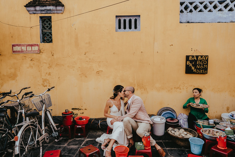 Hoi An Wedding - Intimate Wedding of Angela & Joey captured by Vietnam Destination Wedding Photographers Hipster Wedding-8385